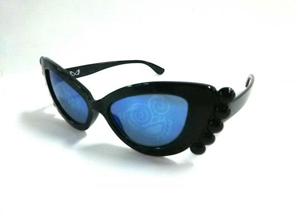HYSTERIC MINI(ヒステリックミニ) サングラス ブルー×黒 プラスチック