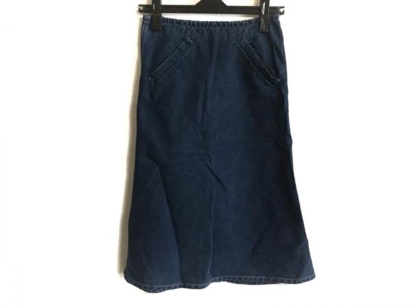 agnes b(アニエスベー) スカート サイズ34 S レディース ネイビー デニム