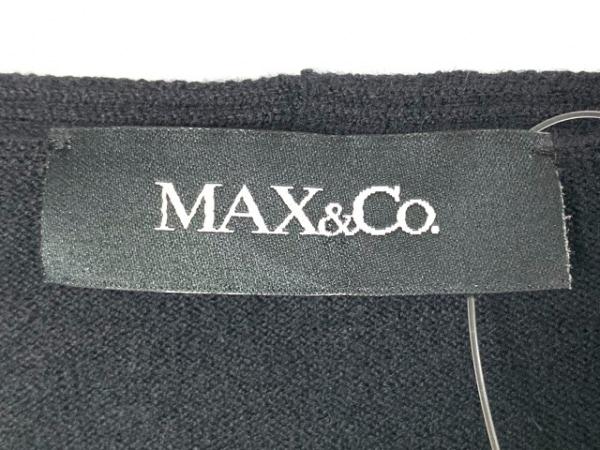 MAX&CO.(マックス&コー) ワンピースセットアップ サイズL レディース 黒×アイボリー