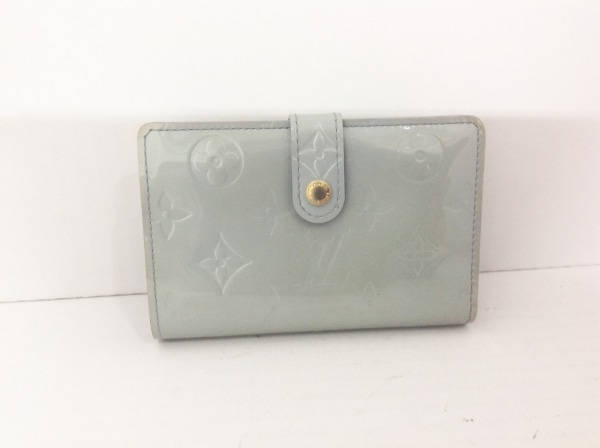ルイヴィトン 2つ折り財布 モノグラムヴェルニ ポルト モネ・ビエ ヴィエノワ M91253