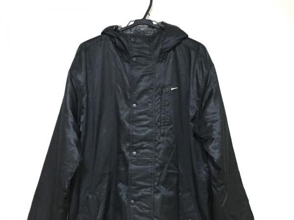 NIKE(ナイキ) コート サイズS メンズ 黒 ベンチコート/冬物