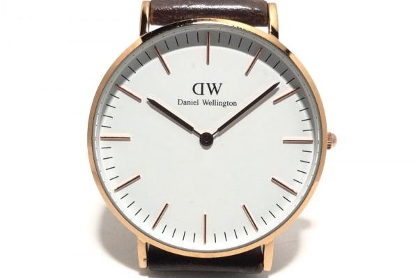 Daniel Wellington(ダニエルウェリントン) 腕時計 B11 メンズ 白