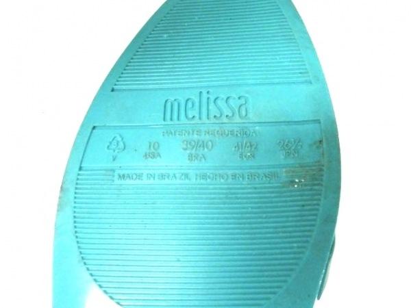 melissa(メリッサ) フラットシューズ レディース グリーン リボン ラバー