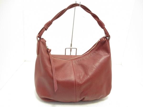 土屋鞄製造所(ツチヤカバンセイゾウショ) ハンドバッグ ボルドー レザー