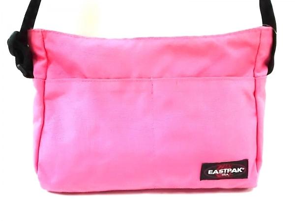 EASTPAK(イーストパック) ショルダーバッグ ピンク×黒 ナイロン