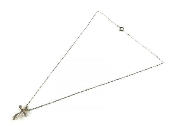 TIFFANY&Co.(ティファニー) ネックレス スモールクロス シルバー クロス