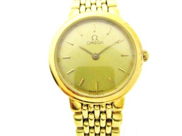OMEGA(オメガ) 腕時計 デビル - レディース ゴールド