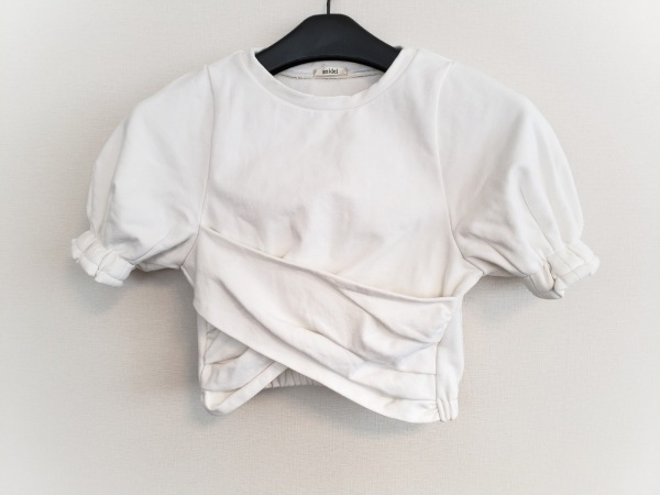 snidel(スナイデル) トレーナー サイズF レディース美品  アイボリー 七分袖