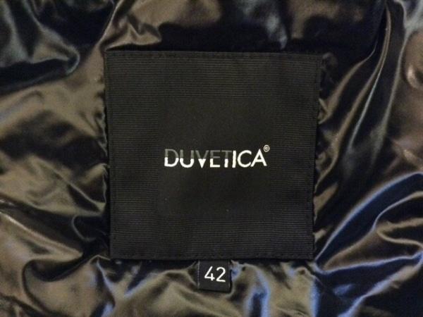 DUVETICA(デュベティカ) ダウンベスト サイズ42 M レディース新品同様  FEBE 黒 冬物