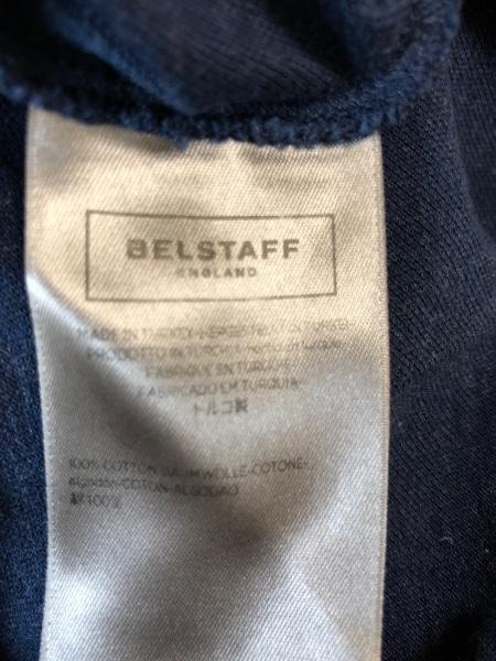 BELSTAFF(ベルスタッフ) 半袖ポロシャツ メンズ ダークネイビー