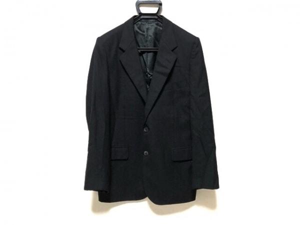 LANVIN(ランバン) ジャケット サイズ52 メンズ 黒 肩パッド