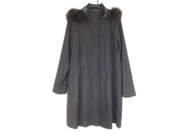 LOUNIE(ルーニィ) コート サイズ40 M レディース美品  黒 30th LOUNIE by LOUNIE/冬物