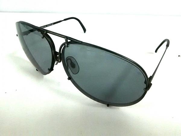 ポルシェデザイン サングラス 5621 ダークグレー×黒 プラスチック×金属素材