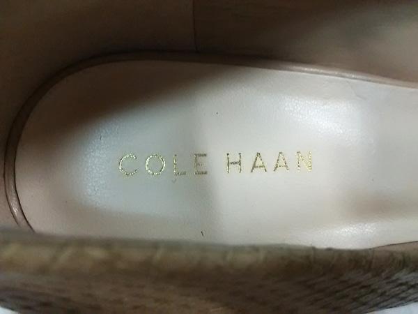 COLE HAAN(コールハーン) パンプス 6 B レディース ベージュ レザー