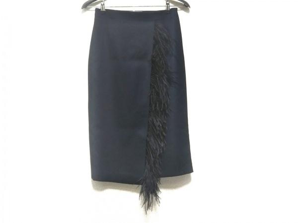 HYALINES(ハイアリン) スカート サイズ38 M レディース美品  黒