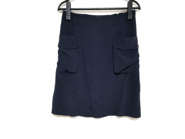 MARNI(マルニ) スカート サイズ36 S レディース美品  ネイビー