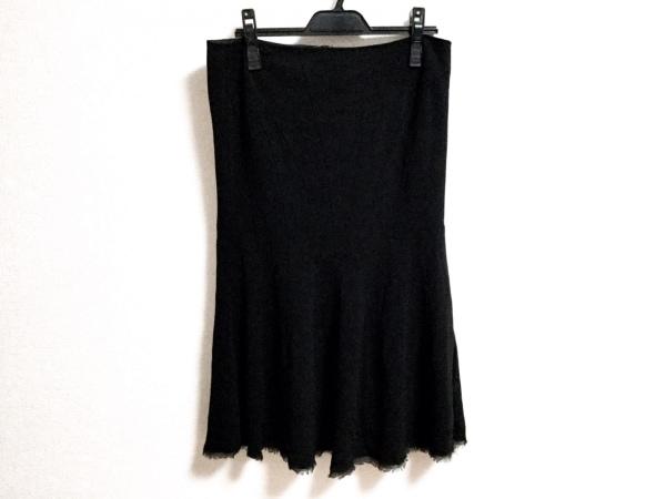 ERMANNO SCERVINO(エルマノシェルビーノ) スカート サイズ44 L レディース 黒