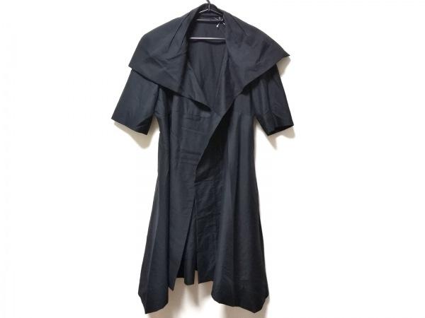 NUOVO BORGO(ヌォヴォボールゴ) コート サイズ46 XL レディース 黒 春・秋物