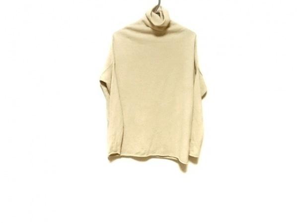 TORY BURCH(トリーバーチ) 長袖セーター サイズXS レディース美品  ベージュ