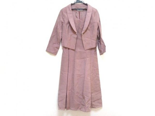ef-de(エフデ) ワンピーススーツ サイズ9 M レディース美品  ピンク