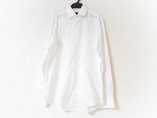 HUGOBOSS(ヒューゴボス) 長袖シャツ サイズ40 M メンズ 白