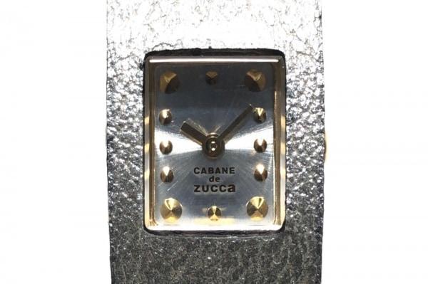 ZUCCA(ズッカ) 腕時計美品  CABANEdeZUCCA - レディース シルバー