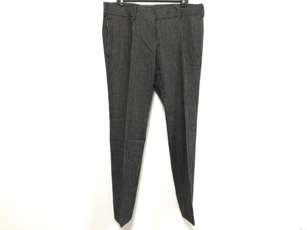 GUCCI(グッチ) パンツ サイズ48 M メンズ 黒×白 ストライプ