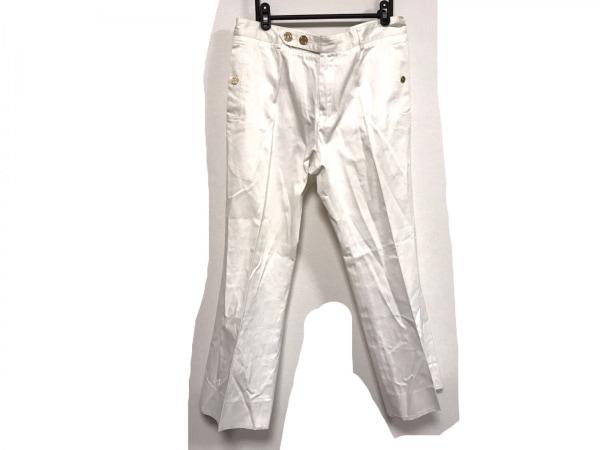 イヴサンローランリヴゴーシュ パンツ サイズ50 XL メンズ アイボリー