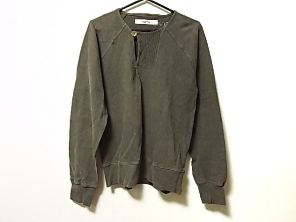 KAPITAL(キャピタル) 長袖カットソー サイズ3 L メンズ カーキ