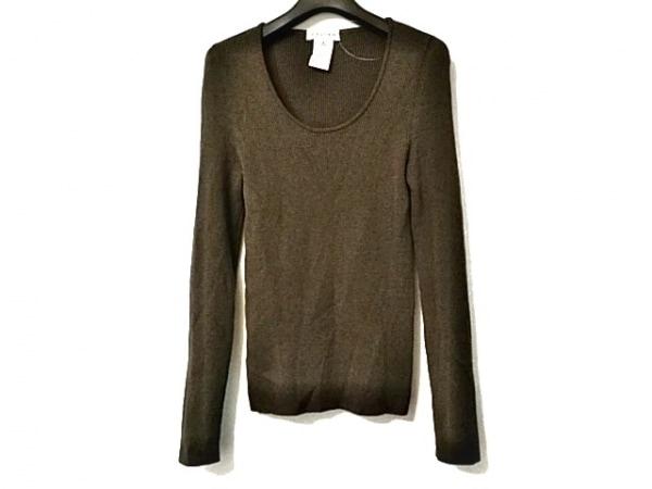 CELINE(セリーヌ) 長袖セーター サイズS レディース美品  ダークブラウン