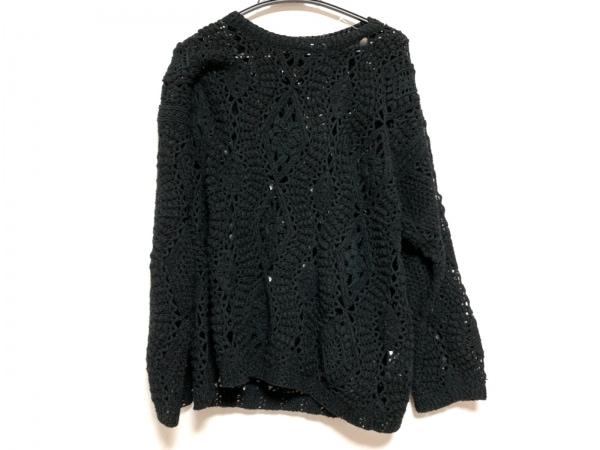 FICCE(フィッチェ) 長袖セーター サイズ18 XL レディース 黒 YOSHIYUKI KONISHI