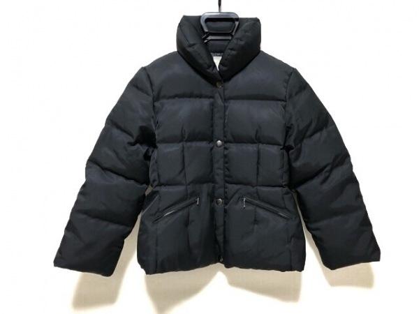 クミキョク ダウンジャケット サイズ2 M レディース 黒 冬物/ジップアップ