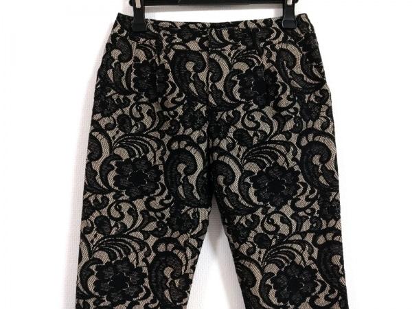 グレースコンチネンタル パンツ サイズ36 S レディース 黒×ベージュ
