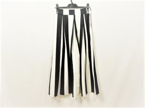 MODE FOURRURE(モードフルーレ) ロングスカート サイズS レディース 黒×白