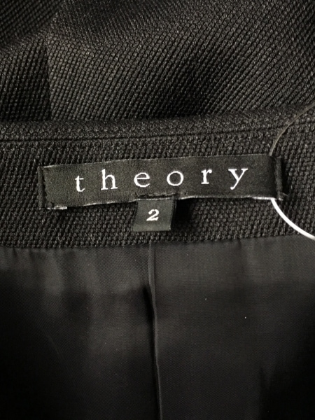 theory(セオリー) レディースパンツスーツ サイズ2 S レディース ダークグレー
