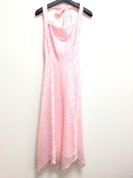 GENETVIVIEN(ジュネビビアン) ドレス サイズ9 M レディース ピンク ホルターネック