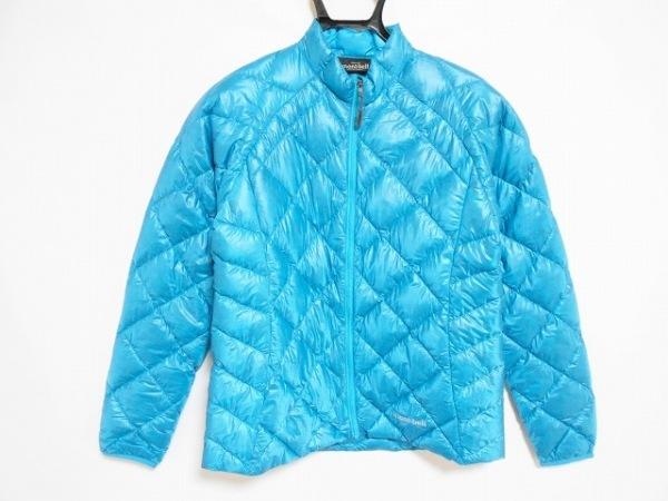 mont-bell(モンベル) ダウンジャケット サイズM レディース美品  ブルー 冬物