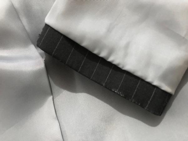ヴァンドゥ オクトーブル ジャケット サイズ40 M レディース 黒×ライトブルー