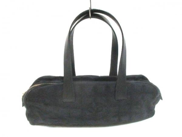 CHANEL(シャネル) ハンドバッグ ニュートラベルライン 黒 ココマーク