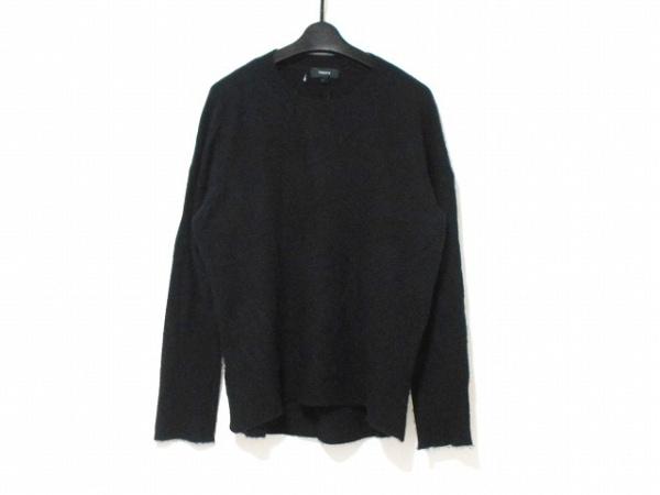 theory(セオリー) 長袖セーター サイズS レディース 黒 カシミヤ