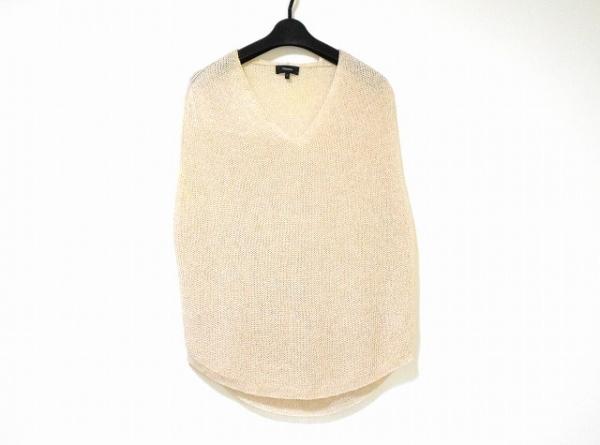 theory(セオリー) ノースリーブセーター サイズS レディース美品  ベージュ