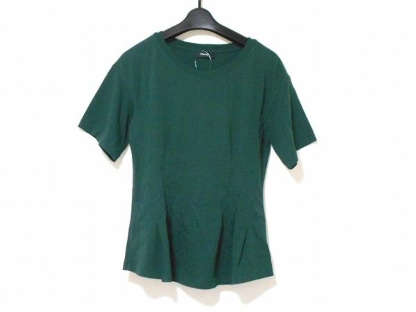theory(セオリー) 半袖Tシャツ サイズS レディース ダークグリーン