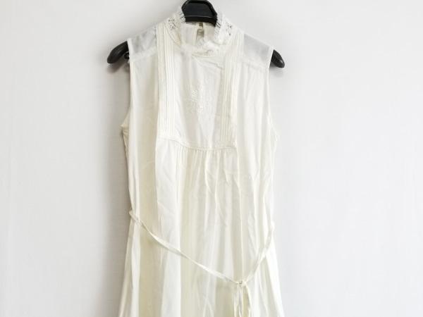 Lois CRAYON(ロイスクレヨン) ワンピース サイズM レディース美品  白