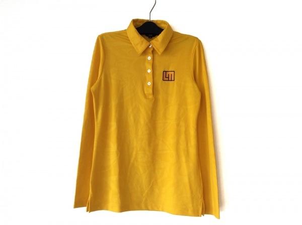 LOUDMOUTH(ラウドマウス) 長袖ポロシャツ サイズM レディース美品  イエロー