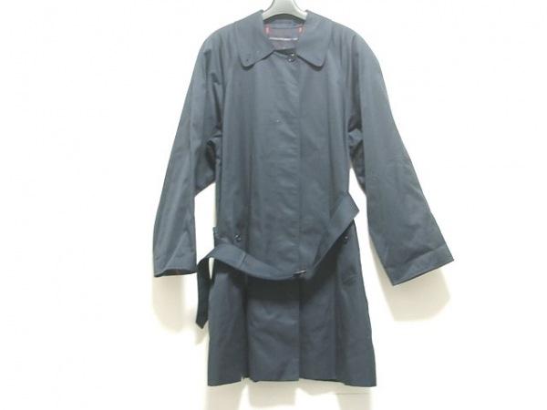 Burberry's(バーバリーズ) コート サイズ10 L レディース ネイビー ロング丈/春・秋物