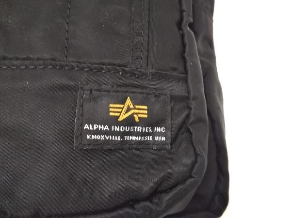 ALPHA INDUSTRIES(アルファ) ワンショルダーバッグ美品  黒 ナイロン