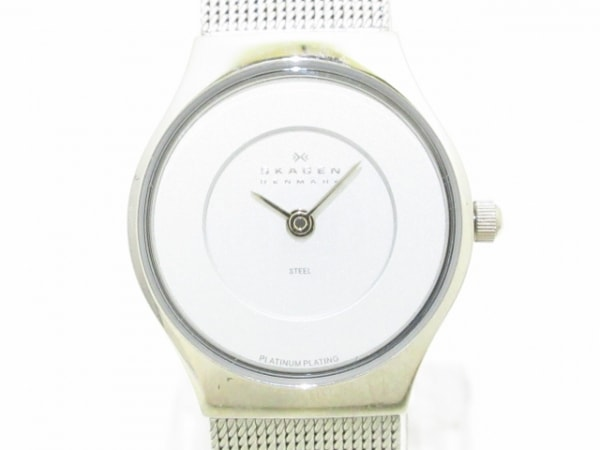 スカーゲン 腕時計美品  233XSSSA レディース 20TH ANNIVERSARY LIMITED EDITION