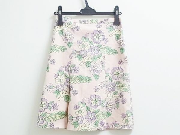 モスキーノ チープ&シック スカート レディース ピンク×パープル×マルチ 花柄