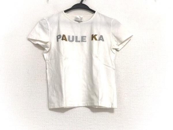 PAULEKA(ポールカ) 半袖カットソー サイズM レディース美品  アイボリー