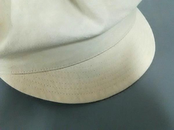 ヴィヴィアンウエストウッドアクセサリーズ 帽子 ベージュ×黒 キャスケット